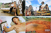 "Days Japan - Post conflict Laos showing the left over effects of the massive US bombing campaign during the ""Secret War."""