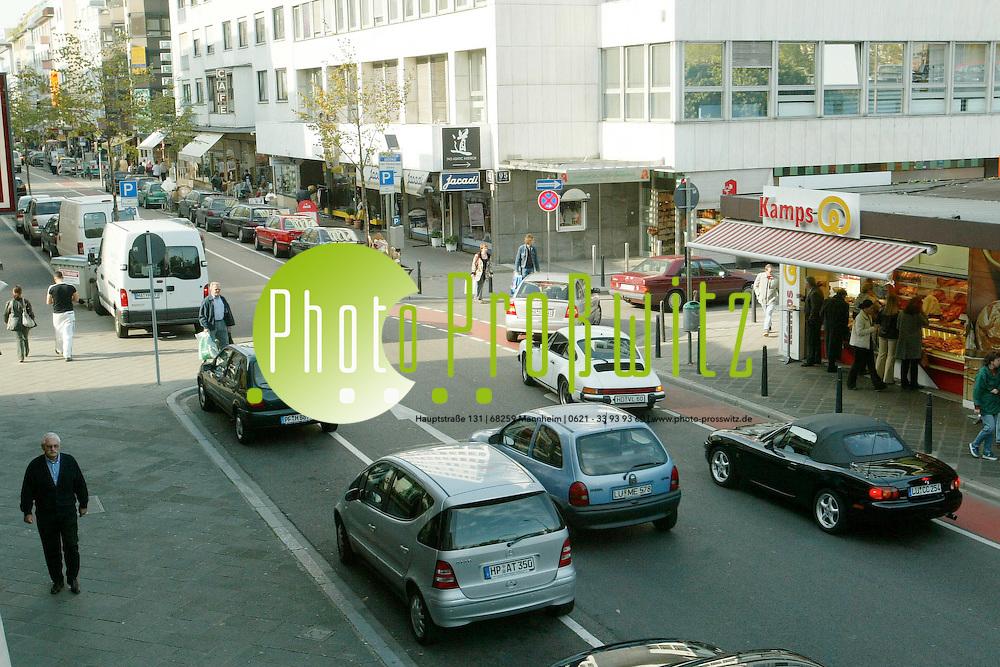 Mannheim. Verkehrssituation Q5<br /> <br /> Bild: Pro&szlig;witz