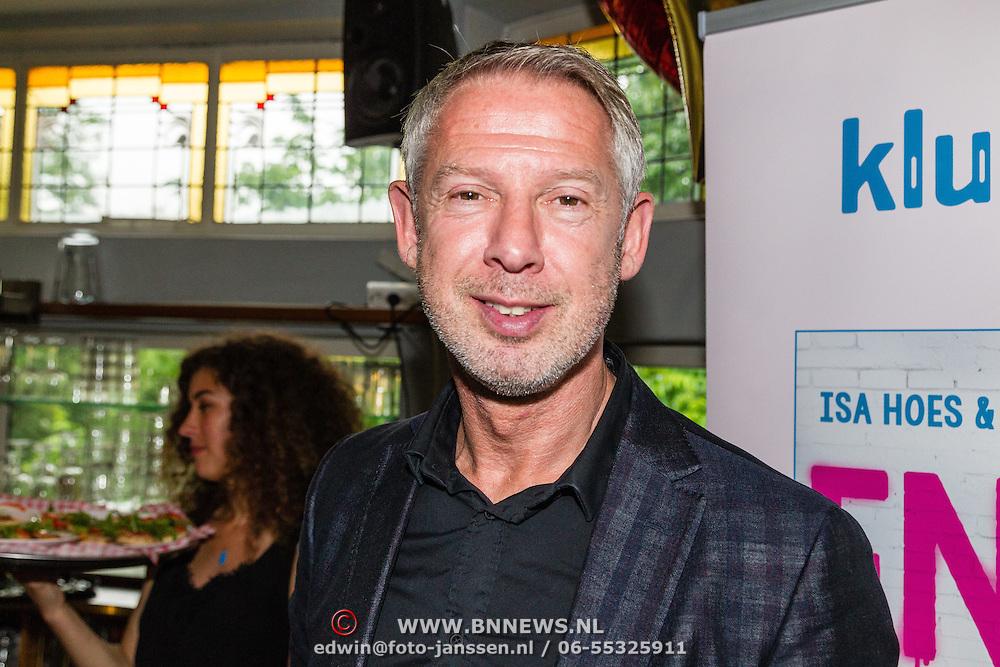NLD/Amsterdam/20160620 - Boekpresentatie Engel kinderboeken debuut van Isa Hoes & Vlinder Kamerling, Onno Hoes