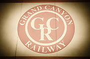 Grand Canyon Railway logo, Williams, Arizona USA