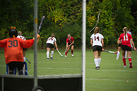 St Paul's School JV/Varsity Field Hockey versus Thayer Academy.  ©2017 Karen Bobotas Photographer