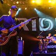 Andy Bell  and Loz Colbert of Ride perform at the 9:30 Club in Washington, D.C. on the opening night of their fall U.S. tour.