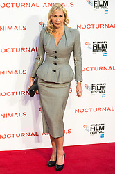 © Licensed to London News Pictures. 14/10/2016. TANIA BRYER attends the Nocturnal Animals film premiere of as part of the London Film Festival. London, UK. Photo credit: Ray Tang/LNP