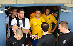 - Photo mandatory by-line: Neil Brookman/JMP - Mobile: 07966 386802 - 25/10/2014 - SPORT - Football - Dorchester - The Avenue Stadium - Dorchester Town v Bristol Rovers - FA Cup Qualifying with Budweiser