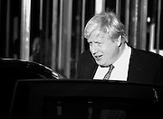 Andrew Marr Show arrivals at Broadcasting House, BBC, London, Great Britain <br /> 4th December 2016 <br /> Boris Johnson leaves BBC after interview <br /> <br /> Photograph by Elliott Franks <br /> Image licensed to Elliott Franks Photography Services