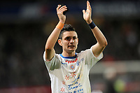 FOOTBALL - FRENCH CHAMPIONSHIP 2011/2012 - L1 - STADE RENNAIS v MONTPELLIER HSC - 7/05/2012 - PHOTO PASCAL ALLEE / DPPI - REMY CABELLA (MON)