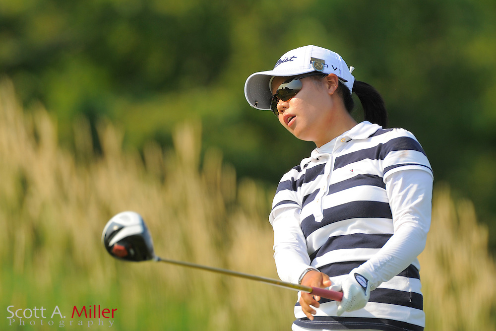Sue Kim during the first round of the US Women's Open at Blackwolf Run on July 5, 2012 in Kohler, Wisconsin. ..©2012 Scott A. Miller
