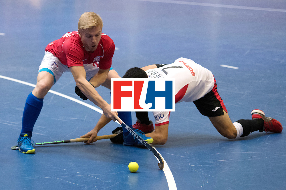 BERLIN - Indoor Hockey World Cup<br /> Czech Republic - Trinidad &amp; Tobago<br /> foto: VACEK David<br /> WORLDSPORTPICS COPYRIGHT FRANK UIJLENBROEK