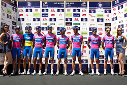Team Lampre during 1st Stage (164 km) at 19th Tour de Slovenie 2012, on June 14, 2012, in Celje, Slovenia. (Photo by Urban Urbanc / Sportida)