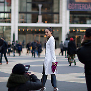 The styles outside New York's Lincoln Center