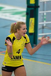 08-02-2015 GER: USC Muenster - Allianz MTV Stuttgart, Munster<br /> Jubel Tess von Piekartz (#4 Muenster)<br /> <br /> ***NETHERLANDS ONLY***
