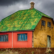 Iceland Buildings, Barns, Structures