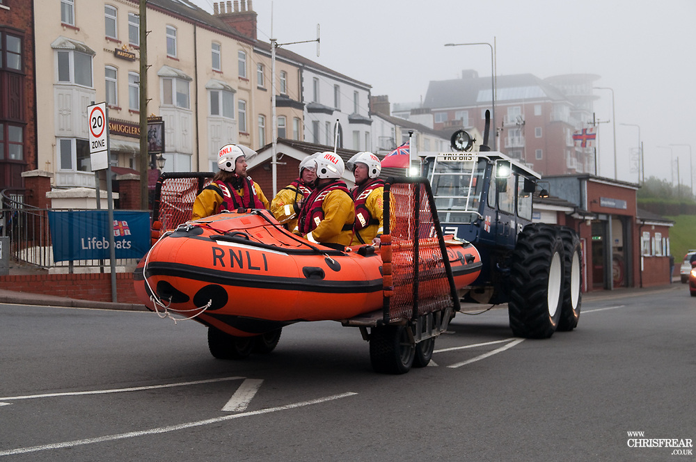 Cleethorpes Inshore RNLI Lifeboat