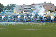 30.07.2016; Wil; Fussball Challenge League - FC Wil - FC Zuerich; <br />Illustartion, Choreo der Zuercher Fans<br />(Claudia Minder/freshfocus)