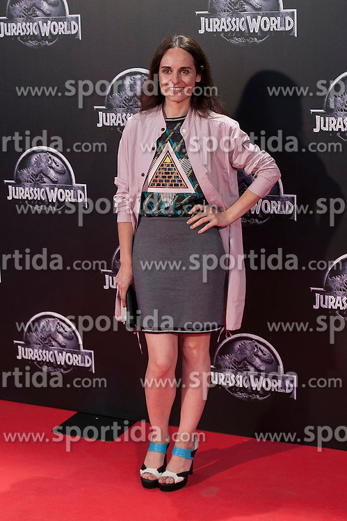 11.06.2015, Madrid, ESP, Jurassic World, Premiere, im Bild Ana Loquin // attends // to the Jurassic World film premiere in Madrid, Spain on 2015/06/11. EXPA Pictures &copy; 2015, PhotoCredit: EXPA/ Alterphotos/ Victor Blanco<br /> <br /> *****ATTENTION - OUT of ESP, SUI*****