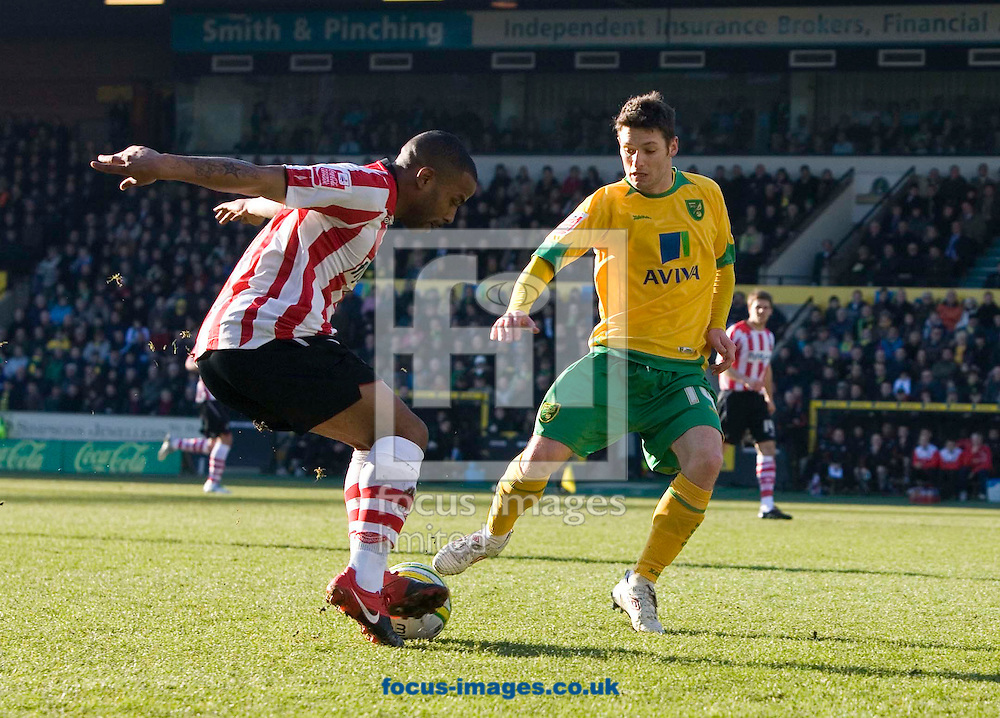 Saturday February 20th 2010: Norwich City play Southampton at the Canaries home ground Carrow road. (Pic by Rob Colman Focus Images)