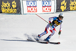 ELLENBERGER Andrea of Switzerland competes in 2nd Run during the Ladies' GiantSlalom at 56th Golden Fox event at Audi FIS Ski World Cup 2019/20, on February 15, 2020 in Podkoren, Kranjska Gora, Slovenia. Photo by Matic Ritonja / Sportida