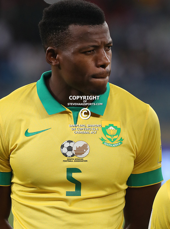 Nhlapo Isaac of South Africa during the international friendly match between South Africa ( Bafana Bafana ) and Ghana at the Moses Mabhida stadium in Durban, South Africa on the 11th October 2016<br /> <br /> Photo by:   Steve Haag / Real Time Images