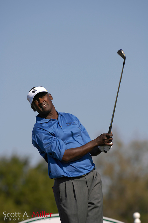 March 2007 –  Vijay Singh in action during final round of the Arnold Palmer Invitational at Bay Hill in Orlando, Fl...© 2007 Scott A. Miller