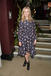 DONNA AIR at a preview of Mayfair's first Flower Show at Sketch, 9 Conduit Street, London on 18th May 2016.