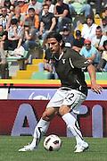Udine, 08/05/2011.Campionato di calcio Serie A 2010/2011. 36^ giornata..Udinese vs Lazio. Stadio Friuli..Nella Foto: Sergio Floccari..Foto di Simone Ferraro