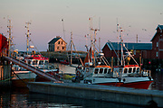 Fishing boats at Röst, Lofoten, Norway. Photo from February 2013.