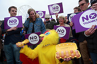 MP to resume referendum campaign tour. Jim Murphy to make the case for the United Kingdom during his 100 Streets in 100 Days project<br /> Pako Mera/Universal News And Sport (Europe) 02/09/2014