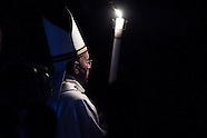 Easter Vigil Mass at St Peter's Basilica