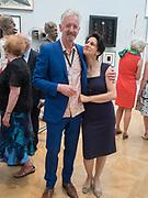 DAVID MACH; ; KAREN MURAT, Royal Academy of Arts Summer Party. Burlington House, Piccadilly. London. 7June 2017