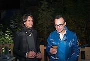 VADMIM GRIGORIAN, Absolut Art Bureau Dinner at Base 13. Documenta ( 13 ), Kassel, Germany. 14 September 2012.