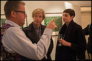 CHARLIE PHILLIPS; LISE AANES; EDWARD PIVCEVIC, Mim Scala, In Motion, private view. Eleven. Eccleston st. London. 9 October 2014.