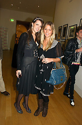 Left to right, GENEVIEVE CHAPMAN daughter of the Countess of Woolton and MISS GEORGIE DOWNIE at the opening of an exhibition entitled Exceptional Youth supported by Teen Vogue at the National Portrait Gallery, London on 3rd November 2006.<br /><br />NON EXCLUSIVE - WORLD RIGHTS