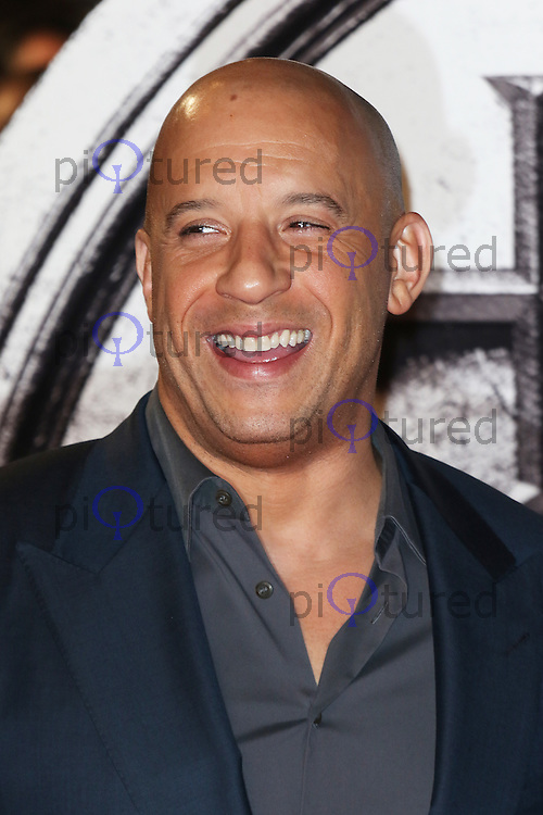 Vin Diesel, The Last Witch Hunter - European film premiere, Leicester Square, London UK, 19 October 2015, Photo by Richard Goldschmidt