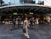 Singapore, Singapore, Raffles city Shopping center