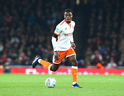October 31, 2018 - London, England, United Kingdom - London, UK, 31 October, 2018.Blackpool's Marc Bola.During Carabao Cup fourth Round between Arsenal and Blackpool at Emirates stadium , London, England on 31 Oct 2018. (Credit Image: © Action Foto Sport/NurPhoto via ZUMA Press)