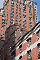 architecture in manhattan in New York City in October 2008
