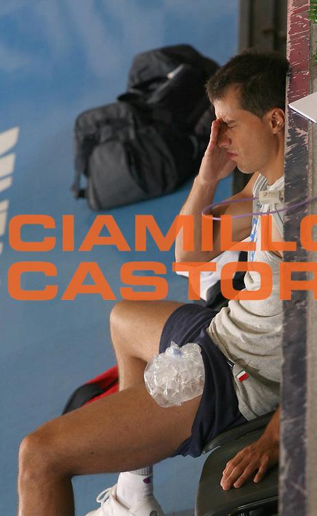 DESCRIZIONE : Bormio Ritiro Nazionale Italiana Maschile Preparazione Eurobasket 2007 Allenamento Preparazione fisica<br /> GIOCATORE : Massimo Bulleri<br /> SQUADRA : Nazionale Italia Uomini <br /> EVENTO : Bormio Ritiro Nazionale Italiana Uomini Preparazione Eurobasket 2007 <br /> GARA : <br /> DATA : 22/07/2007 <br /> CATEGORIA : Allenamento <br /> SPORT : Pallacanestro <br /> AUTORE : Agenzia Ciamillo-Castoria/G.Landonio<br /> Galleria : Fip Nazionali 2007 <br /> Fotonotizia : Bormio Ritiro Nazionale Italiana Maschile Preparazione Eurobasket 2007 Allenamento <br /> Predefinita :