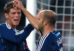 02-08-2007 VOETBAL: LG AMSTERDAM TOURNAMENT: AJAX - ATLETICO MADRID: AMSTERDAM<br /> Ajax  wint met 2-0 van Madrid / Gabri scoort de 1-0<br /> &copy;2007-WWW.FOTOHOOGENDOORN.NL