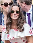 Pippa Middleton Wimbledon Tennis 2016