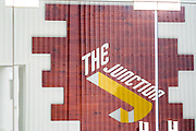 DUBAI, UAE - APRIL 30, 2016: The Junction is a performance hall and stage located in Alserkal Avenue in Dubai' Al Quoz Industrial Area.
