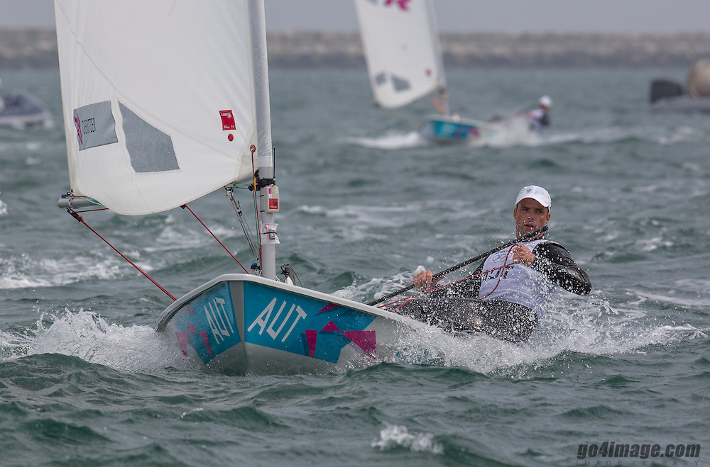 LaserAUTGeritzer Andreas<br /> <br /> 2012 Olympic Games <br /> London / Weymouth