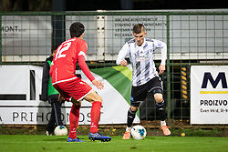 Luka Bobičanec of Mura during football match between NŠ Mura and NK Aluminij in 17th Round of Prva liga Telekom Slovenije 2019/20, on November 10, 2019 in Fazanerija, Murska Sobota, Slovenia. Photo by Blaž Weindorfer / Sportida
