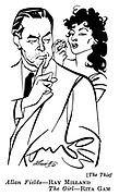 The Thief ;  Ray Milland and Rita Gam..