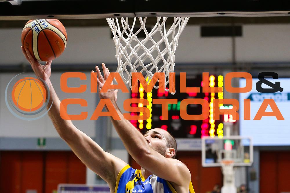 Mario Delas<br /> Vanoli Cremona - Betaland Capo D Orlando<br /> Lega Basket Serie A 2016/2017<br /> Cremona 12/03//2017<br /> Foto Ciamillo-Castoria / M. Brondi