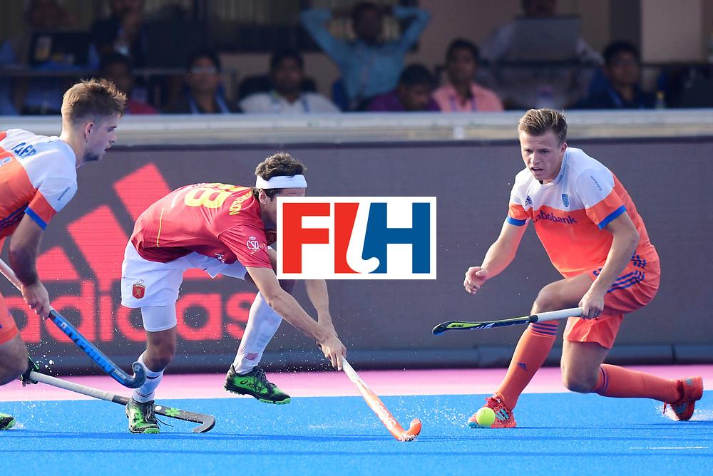 Odisha Men's Hockey World League Final Bhubaneswar 2017<br /> Match id:04<br /> Netherlands vs Spain<br /> Foto: Enrique Gonzalez (Esp)  <br /> WORLDSPORTPICS COPYRIGHT FRANK UIJLENBROEK
