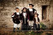 Gabriele,Michele,Lavinia e Rachele