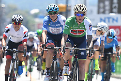 May 24, 2018 - Japan - Slovenian rider Grega Bole from Bahrain - Merida Team finishes on the fourth place in Minami Shinshu stage, 123.6km on Shimohisakata Circuit race, the fifth stage of Tour of Japan 2018. .The winner, French man Thomas Lebas takes the Race Leader Green Jersey with three stages to go..On Thursday, May 24, 2018, in Lida, Nagano Prefecture, Japan. (Credit Image: © Artur Widak/NurPhoto via ZUMA Press)