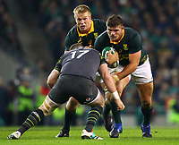 Rugby Union - 2017 Guinness Series (Autumn Internationals) - Ireland vs. South Africa<br /> <br /> South Africa's Malcolm Marx in action against Ireland's Dave Kilcoyne , at the Aviva Stadium.<br /> <br /> COLORSPORT/KEN SUTTON