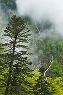 Cascada en el Valle de Lys, Bagnères de Luchon, Francia