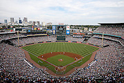 ATLANTA, GA - OCTOBER 2:  A general internal view of Turner Field during the game between the Detroit Tigers and the Atlanta Braves on Sunday, October 2, 2016 in Atlanta, Georgia. (Photo by Mike Zarrilli/MLB Photos via Getty Images) *** Local Caption ***